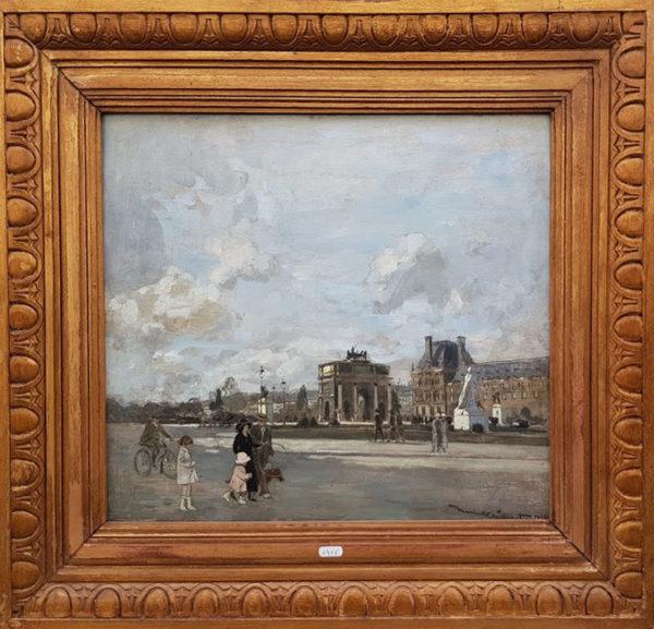 La place du Louvre
