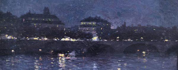 Vue de la place du Châtelet depuis la Conciergerie