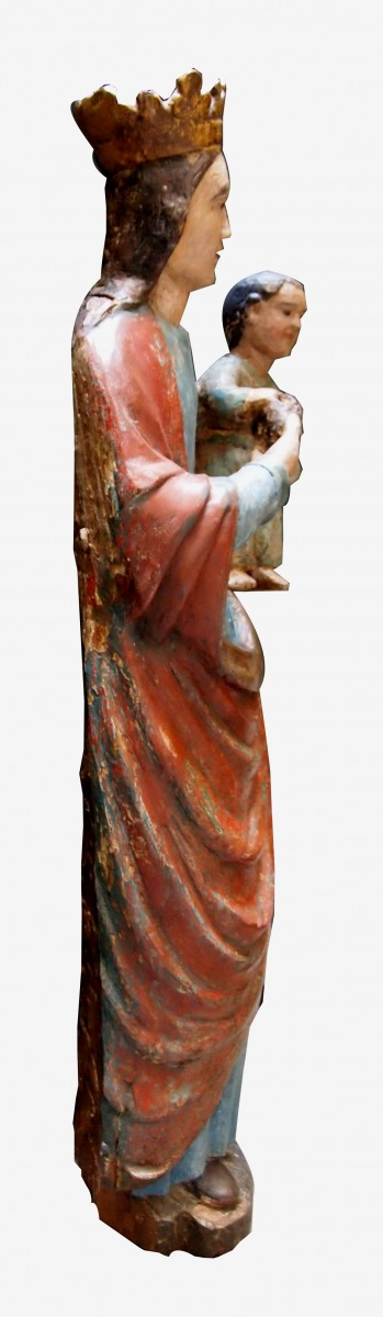 Vierge à la pomme de pin, XVIe siècle