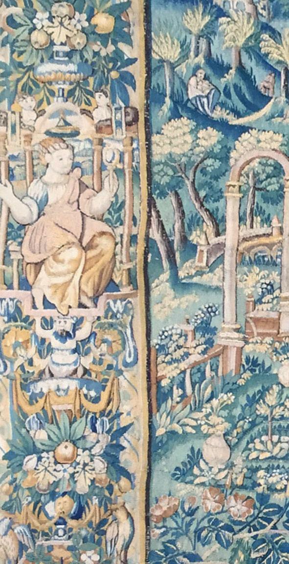 Tapisserie d'Audenarde du XVIème siècleTapisserie d'Audenarde du XVIème siècle
