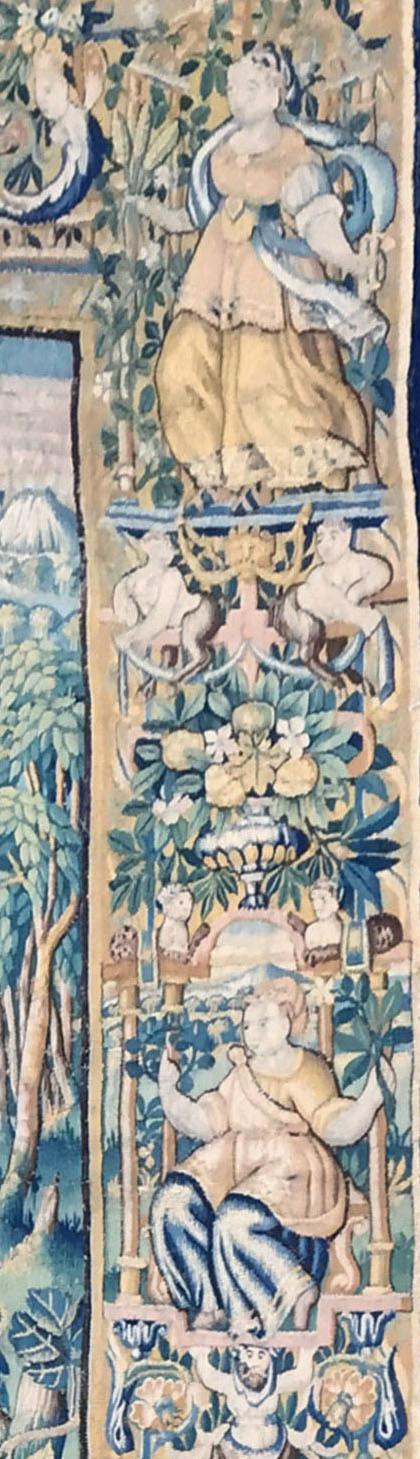 Tapisserie d'Audenarde du XVIème siècle