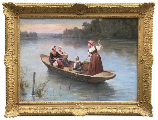 Le voyage en barque