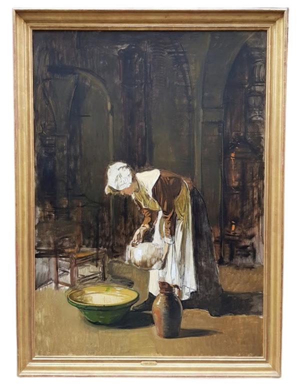La laitière par Joseph BAIL
