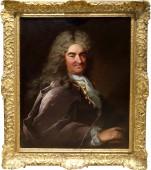 Portrait de gentilhomme en habit, par Levrac Tourniere
