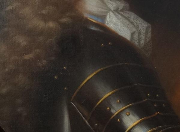 portrait de gentilhome en cuirasse