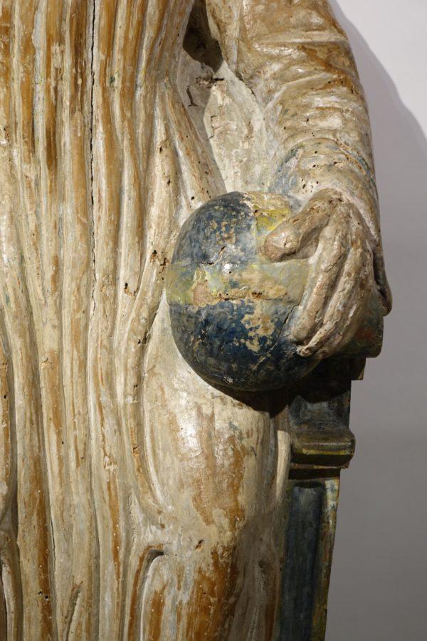 Sculpture Christ Benissant France fin 15e siecle la credence paris