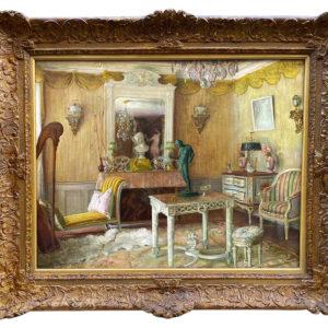 huile-sur-toile--interieur-appartementgaston-hoffmann
